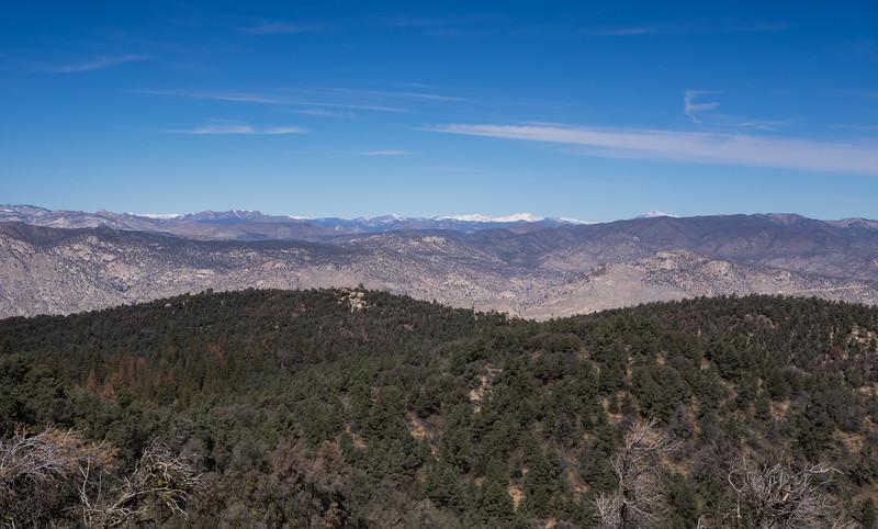 Looking North toward the higher peaks in the Sierra