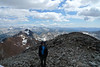 Me on the summit of Red Slate Mountain.