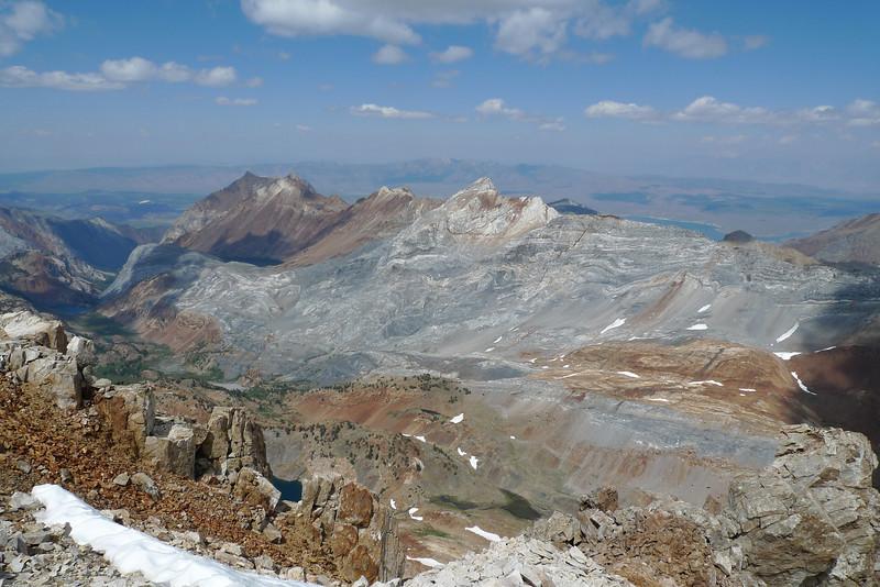 Mount Baldwin in the Center.