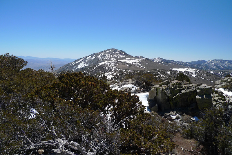 Round Mountain to the south.