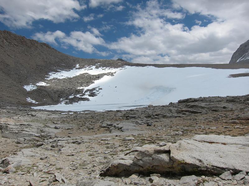 The lake near Shepherd Pass