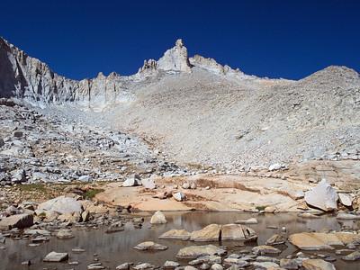 Shepherd Pass to Milestone Mountain  (13645')  8.13-8.16.13