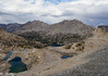 View northeasterly from Glen Pass - Black Mountain and Diamond Peak above Rae Lakes.