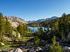 One of the lakes in Sixty Lakes Basin.