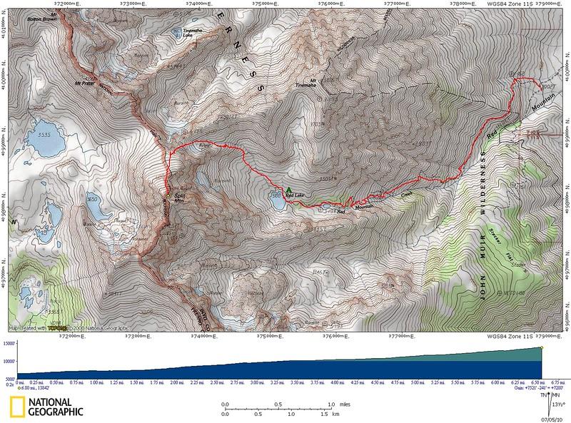 Split Mountain Track