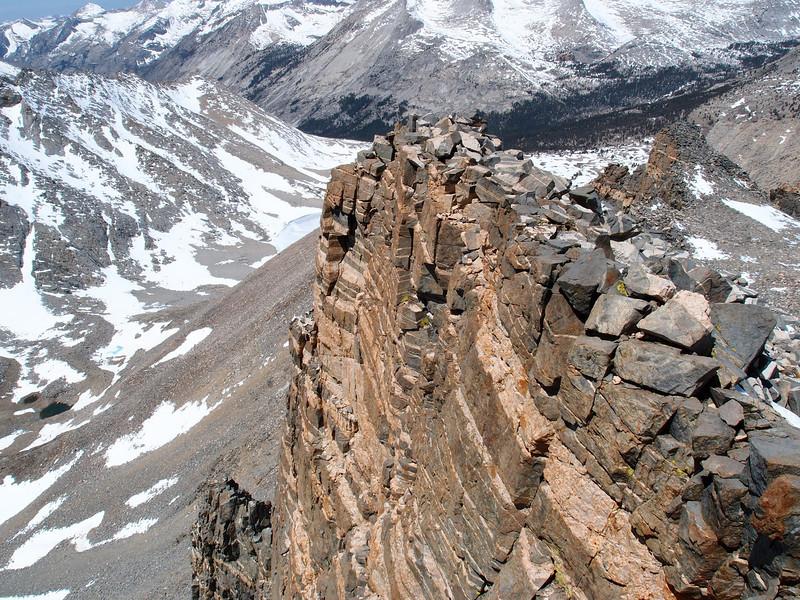 Stripes on Striped Mountain.