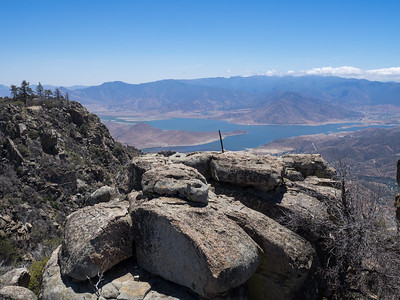 View from Spilt Mountain - Lake Isabella