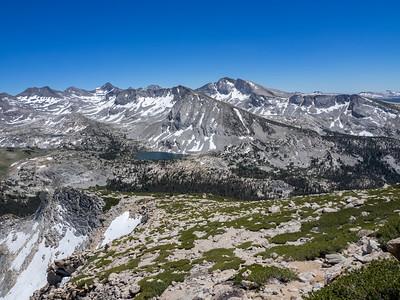 Tuolumne Meadows to Vogelsang Peak - Yosemite NP  7/7/16