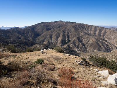 Looking over at Pacifico Mountain from Bare Mountain