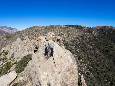View North from Cone Peak - I'll go that way on the way out to pick up the PCT along the Desert Divide