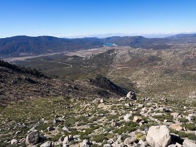View toward Garner Valley