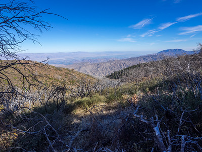 View from Along the PCT - The Coachella Valley