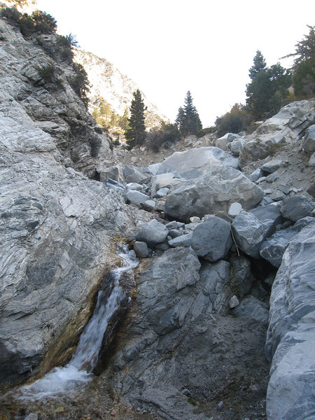 Waterfall in Mill Creek Canyon