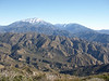 San Bernardino Mtn Ridge and the Yucaipa Ridge