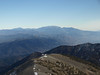 zoomed in on San Gorgonio and at Yucaipa Ridge