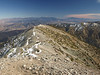 Great view of San Gogonio and San Jacinto from Baldy
