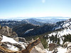 View from where we ended up - at about 9900', so a couple hundred feet higher than Wellmans Divide.