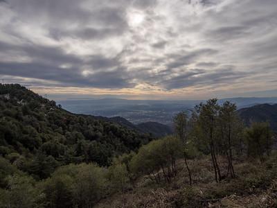 Occidental Peak from Chantry Flat  1.25.15