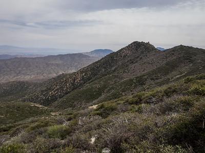 Pine Mountain along the Desert Divide    4.9.17