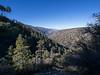View as I hiked to Pinyon Ridge