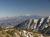 Zoomed in on the San Gorgonio Wilderness and the Yucaipa Ridge.