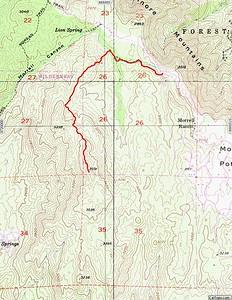 San Mateo Peak - Cleveland National Forest 10.29.16 - KathyWing