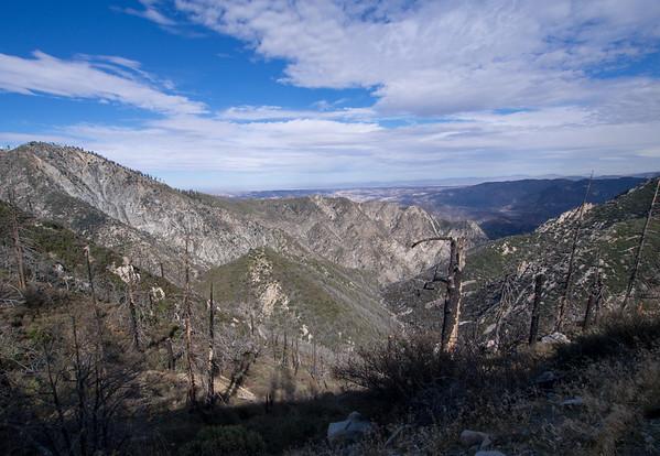 San Sevaine Peak and Buck Point 12/19/16