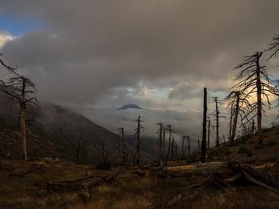 Sewart, Snowy, Black #2, McDonald, Alamo, and Frazier Mtn - Ventura County Peaks   05/23-05/24/15