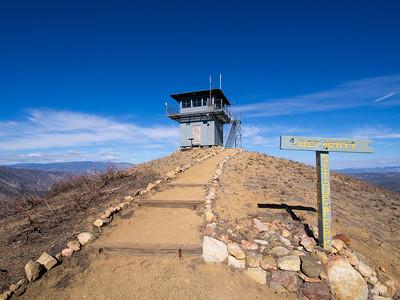 Slide Mountain Lookout  11-28.15