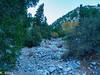 Starting up Falling Rock Canyon