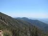 Looking back at Santa Cruz Peak