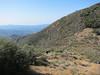 John on his way back from Santa Cruz Peak.