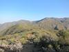 Looking back at McKinley Peak, McKinley Saddle, and the ridge that goes out to San Rafael Peak.