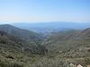 View  southwest toward Cachuma Lake.