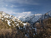 The Yucaipa Ridge from between Vivian Creek Camp and Mill Creek