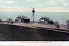 Old postcard view of the New Point Loma Light Station