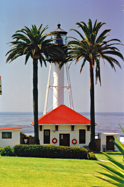 In 1933 the lighthouse was electrified and used a 500 watt lightbulb to produce its signal.  The characteristic was changed from a red & white light, to a flashing white light.  During World War II the light was extinguished in accordance with a black-out order.