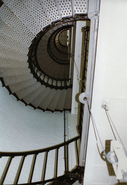 There are 136 steps to the top of the Pigeon Point Lighthouse.