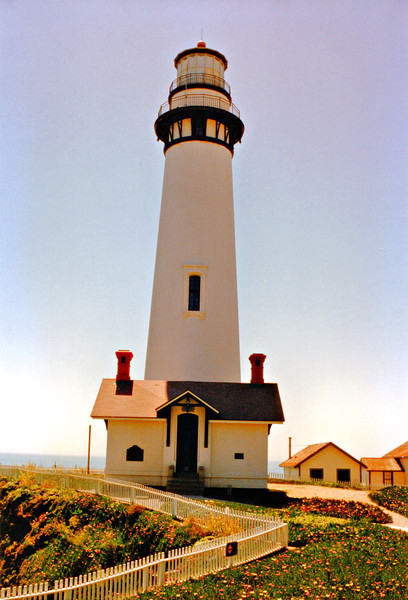 At sunset on November 15, 1872 Keeper J.W. Patterson climbed the steps and lit the lamp for the first time in the Pigeon Point Lighthouse.