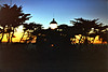 Ponit Piños Light at sunset