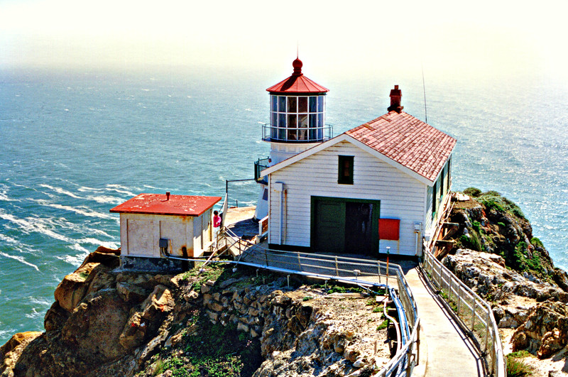 Construction of the Point Reyes Lighthouse was delayed for 17 years due to court battles over land ownership with local ranchers. During the interim seven ships came to grief on the rocks of Point Reyes before the federal government began condemnation proceedings for the land. A deed for 83 acres was finally signed in 1869.