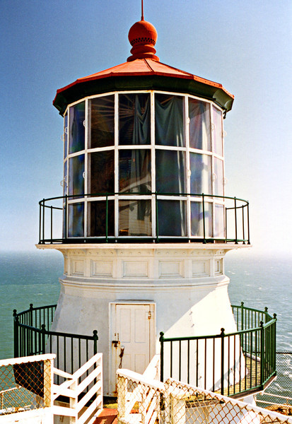 Originally the Light House Board had planned on building a Cape Cod style dwelling with a lantern at the top of the point similar to other California lighthouse stations of the 1850's. Experience with the fog obscuring the lights visibility taught them to build the light at a lower elevation.