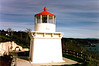 The original Fresnel lens and fog bell from the Trinidad Head Light were donated to the Trinidad Civic Club to be displayed in a park overlooking the bay.  Land for the park was donated by a local citizen.