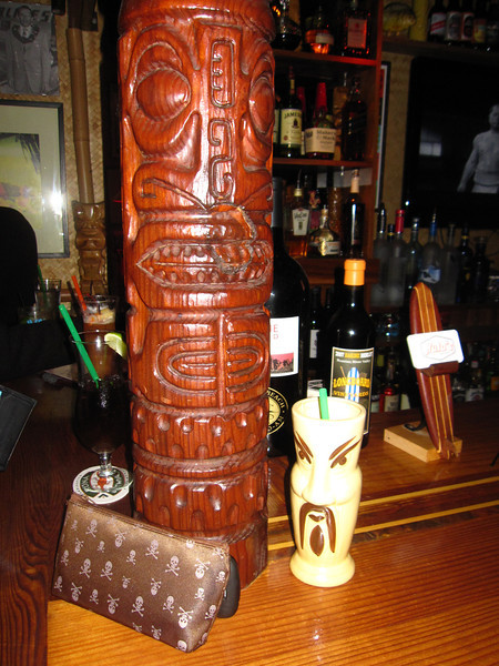 All about tikis and pirates...and fu manchus!!!