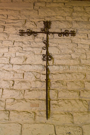 Mission San Carlos Borromeo del río Carmelo Original Cross0071