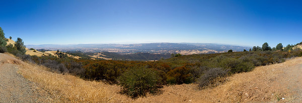 Panorama. Mount Diablo State Park - California, USA