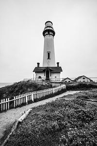 Pigeon Point Lighthouse. Pescadero, CA, USA