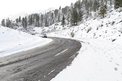 Road to Truckee, CA from Reno, NV.