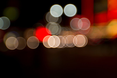 Bokeh. Reno, NV, USA