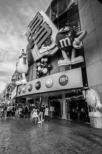M&M's World. Las Vegas, NV, USA
